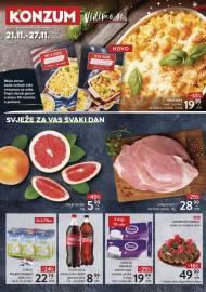 KONZUM KATALOG -SVJEŽE ZA VAS SVAKI DAN - Akcija do 27.11.2019.