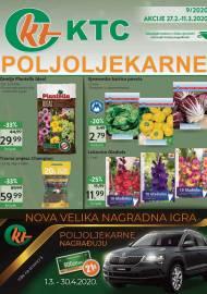 KTC KATALOG POLJOLJEKARNE - Akcija sniženja do 11.03.2020. Godine