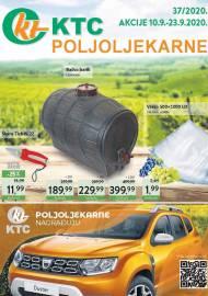 KTC KATALOG POLJOLJEKARNE - Akcija sniženja do 23.09.2020. Godine