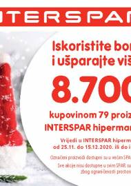 INTERSPAR BONOVI - Akcija do 15.12.2020.