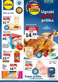 LIDL KATALOG - AKCIJA SNIŽENJA - UGRABI SUPER 5 PRILIKA - Sniženje do 29.05.2020. godine
