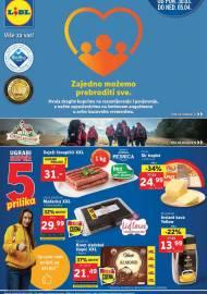LIDL KATALOG - AKCIJA SNIŽENJA - ZAJEDNO MOŽEMO PREBRODITI SVE - Sniženje do 05.04.2020. godine