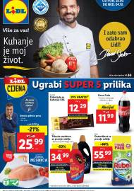 LIDL KATALOG - AKCIJA SNIŽENJA - UGRABI SUPER 5 PRILIKA - Sniženje do 04.10.2020. godine