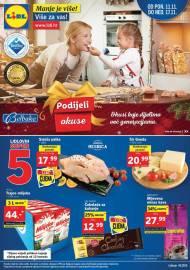 LIDL KATALOG - PODIJELI OKUSE - AKCIJA SNIŽENJA do 17.11.2019. godine