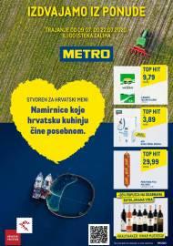 METRO AKCIJA - IZDVAJAMO IZ PONUDE!  - Akcija do 22.07.2020.