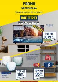 METRO AKCIJA -NEPREHRANA - Akcija do 05.02.2020.