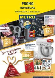 METRO AKCIJA -NEPREHRANA!  - Akcija do 11.12.2019.