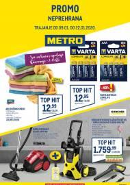 METRO AKCIJA -NEPREHRANA - Akcija do 22.01.2020.