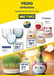 METRO AKCIJA -NEPREHRANA!  - Akcija do 27.11.2019.