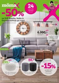 MOEMAX KATALOG!  AKCIJA SNIŽENJA -50% na SVE Nobilia, Nolte & Express kuhinje po mjeri do 20.04.2020.