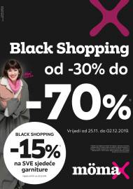 MOEMAX KATALOG -BLACK SHOPPING U MOMAXU!  Akcija sniženja do 02.12.2019.