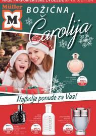 MULLER KATALOG -NAŠE PARFUMERIJSKE ZVIJEZDE - BOŽIĆNA ČAROLIJA - Akcija do 27.11.2019.