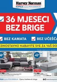 HARVEY NORMAN AKCIJA - 36 MJESECI BEZ BRIGE - KUPNJA BEZ BRIGE -  Akcija do 18.11.2019.