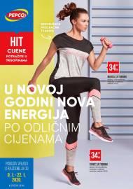 PEPCO KATALOG - U NOVOJ GODINI NOVA ENERGIJA! Akcija do 22.01.2020.
