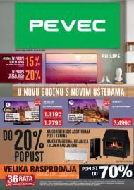PEVEC KATALOG - U NOVU GODINU S NOVIM UŠTEDAMA -Akcija do 04.02.2020.