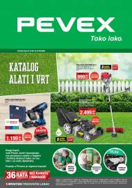 PEVEX KATALOG -  TAKO LAKO - KATALOG ALATI I VRT -Akcija do 07.06.2020.