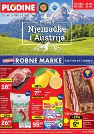 PLODINE  KATALOG - TJEDAN NJEMAČKE I AUSTRIJE - Akcija sniženja do 30.09.2020.