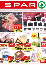SPAR KATALOG - Ponuda prehrambenih namirnica, kozmetike, sredstava za čišćenje vrijedi 09.06.2020. Ponuda kućanstva, tekstila, tehnike vrijedi do 16.06.2020