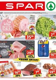 SPAR KATALOG - Ponuda prehrambenih namirnica, kozmetike, sredstava za čišćenje vrijedi 14.04.2020. Ponuda kućanstva, tekstila, tehnike vrijedi do 21.04.2020