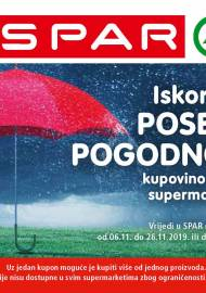 SPAR BONOVI - Akcija do 26.11.2019.