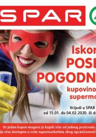 SPAR BONOVI - Akcija do 04.02.2020.