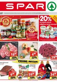 SPAR KATALOG - Ponuda prehrambenih namirnica, kozmetike, sredstava za čišćenje vrijedi do 27.10.2020. Ponuda kućanstva, tekstila, tehnike vrijedi do 03.11.2020