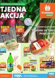 STUDENAC  KATALOG -KORAK DO VAS! TJEDNA AKCIJA - Akcija do 08.04.2020.