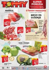 TOMMY SUPER PONUDA - MESNICA - VOĆE I POVRĆE -Akcija do 27.11.2019.