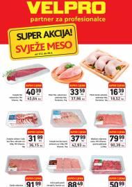 VELPRO SUPER AKCIJA SVJEŽE MESO - PARTNER ZA PROFESIONALCE -Akcija do 29.02.2020.