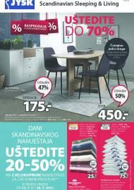 Jysk ponuda - JYSK Katalog -  RASPRODAJA - UŠTEDITE DO 70% - Akcija sniženja do 04.08.2021