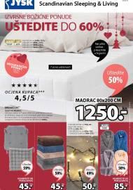 Jysk ponuda - JYSK Katalog - IZVRSNE BOŽIĆNE PONUDE UŠTEDITE DO 60% - Akcija sniženja do 25.11.2020