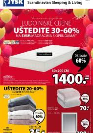 Jysk ponuda - JYSK Katalog - SLAVIMO LUDO NISKE CIJENE - Akcija sniženja do 07.10.2020