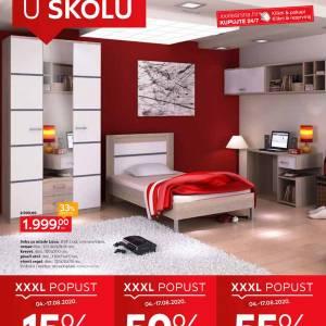 LESNINA KATALOG SNIŽENJA - IDEMO U ŠKOLU! - Akcija sniženja do 17.08.2020.