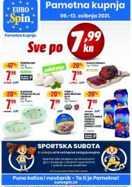 EUROSPIN KATALOG - SUPER SNIŽENJE -  Akcija sniženja do 12.05.2021.