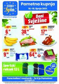 EUROSPIN KATALOG - SUPER SNIŽENJE -  Akcija sniženja do 16.06.2021.