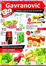 GAVRANOVIĆ KATALOG -Akcija sniženja do 19.05.2021.