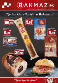 BAKMAZ - TJEDAN GAVRILOVIĆA U BAKMAZU! -Akcija do 31.10.2021.