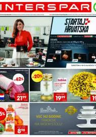 INTERSPAR KATALOG - Ponuda prehrambenih namirnica, kozmetike, sredstava za čišćenje vrijedi do 19.10.2020. Ponuda kućanstva, tekstila, tehnike vrijedi do 26.10.2021