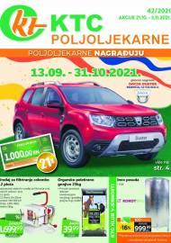 KTC KATALOG POLJOLJEKARNE - Akcija sniženja do 03.11.2021. Godine