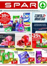 SPAR KATALOG - Ponuda prehrambenih namirnica, kozmetike, sredstava za čišćenje vrijedi do 28.09.2020. Ponuda kućanstva, tekstila, tehnike vrijedi do 05.10.2021