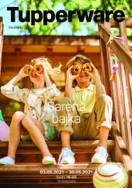 TUPPERWARE Katalog -  ŠARENA BAJKA! - AKCIJA SNIŽENJA DO 30.05.2021.