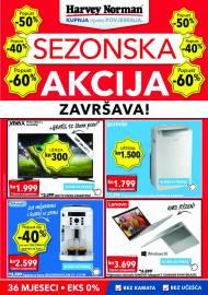 HARVEY NORMAN - SEZONSKA AKCIJA ZAVRŠAVA - AKCIJA DO 22.06.2021
