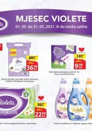 LONIA - MJESEC VIOLETE - SNIŽENJA -AKCIJA DO 31.05.2021.