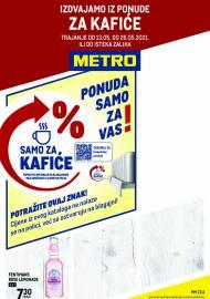 METRO AKCIJA -IZDVAJAMO IZ PONUDE ZA KAFIĆE - Akcija do 26.05.2021.