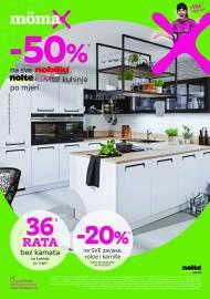 MOEMAX KATALOG!  -50% NA SVE NOBILIA, NOLTE I EXPRESS KUHINJE PO MJERI! AKCIJA SNIŽENJA do 17.05.2021.